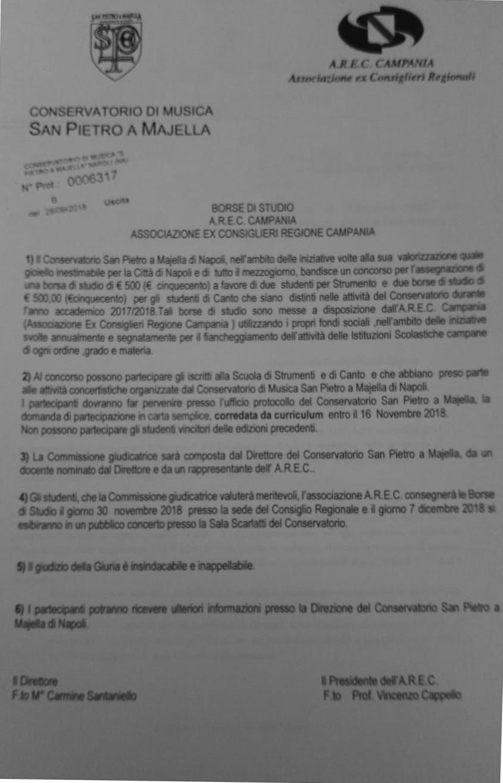 alta moda taglia 7 acquista per il meglio Borse di studio AREC Associazione ex Consiglieri Regione ...